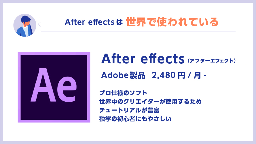 Aftereffectsとは